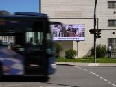 Werbeplattform Videowand