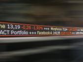 LED-Börsenkursanzeige