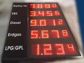 LED-Preisschilder