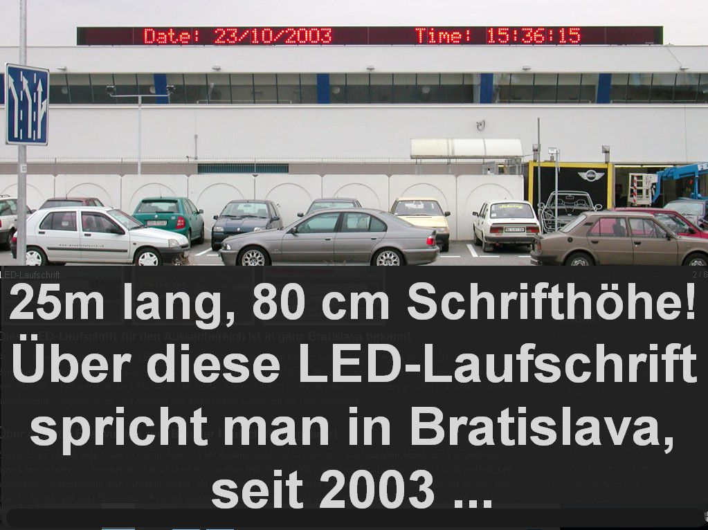 Langlebige-LED-Laufschriften