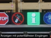 LED-Verkehrsanzeigen