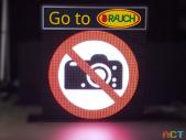 LED-Videodisplay für die LKW Abfertigung