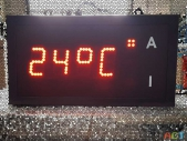 Led-Innen-Aussentemperaturanzeige