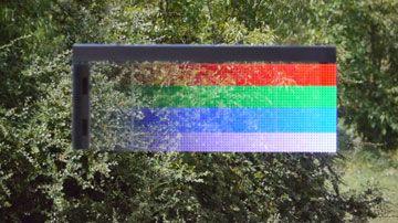 Durchsichtige-LED-Laufschrift