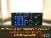 LED-Hinweistafeln