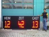 LED-Fußballanzeigetafe