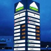 Tankstellen-Pylon