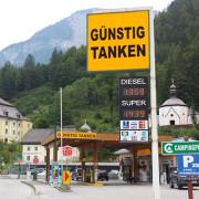 Preisanzeige-Tankstelle