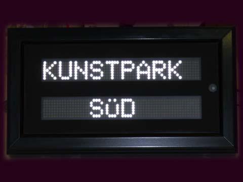 LED-Anzeige_Kunstpark-Sued