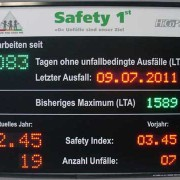 LED-Safetydisplay