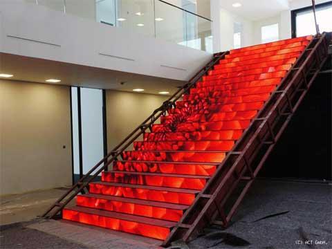 LED-Videotreppe