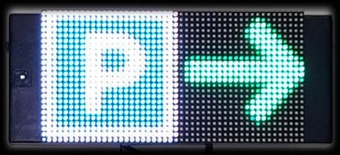 LED-Hinweisschild