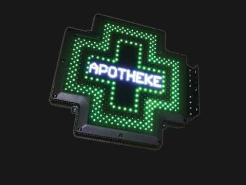 LED-Apothekenkreuz