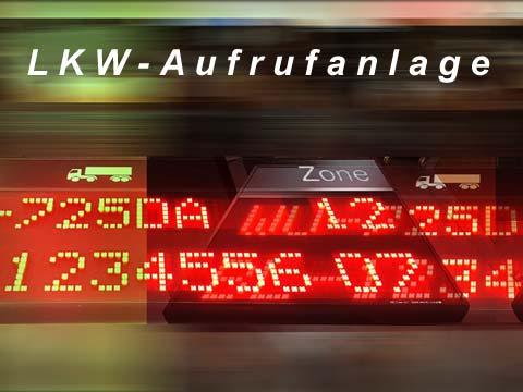 LKW-Aufrufanlage