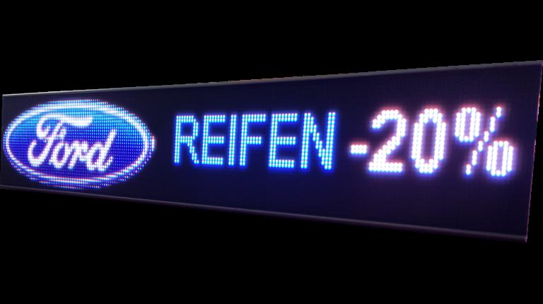 COB-LED-Regalanzeigen