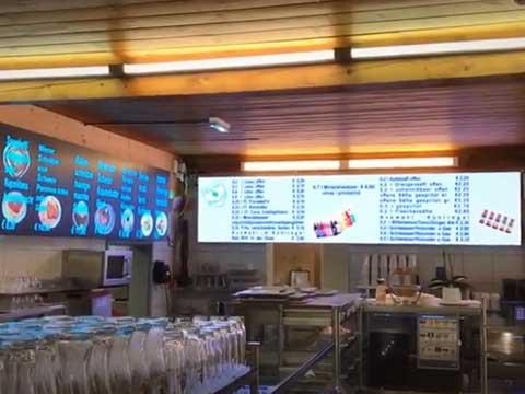 LED-Videoboard